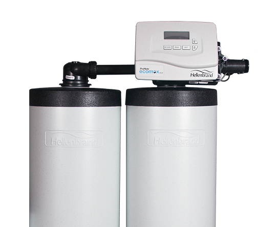 Hellenbrand ProMate EcoMax duo Residential water softener
