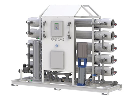 X1 Reverse Osmosis System (30,000 – 180,000 GPD)